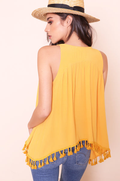Such A Tassel Tank - FINAL SALE