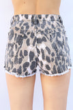 Animal Instincts Denim Shorts by Minkpink - FINAL SALE