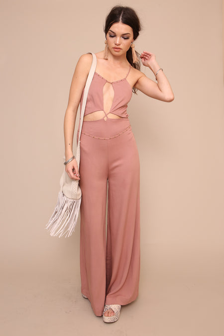 Groove Thing Jumpsuit - FINAL SALE