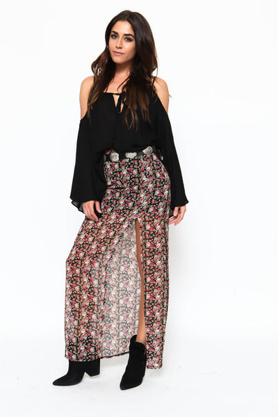 Rosebud Maxi Skirt - FINAL SALE