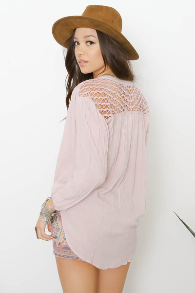 Brennan Woven Top by Amuse Society - FINAL SALE