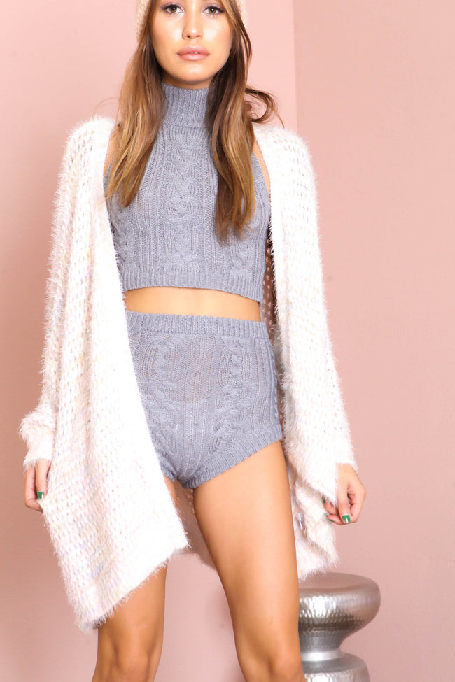 Warm Up Cropped Sweater