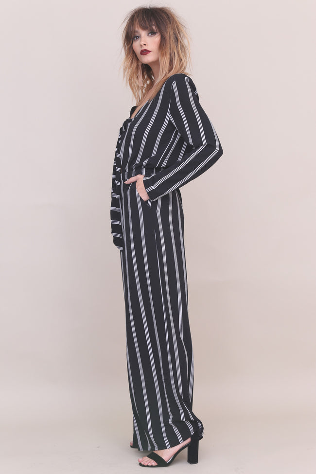 Bottom Line Jumpsuit - FINAL SALE