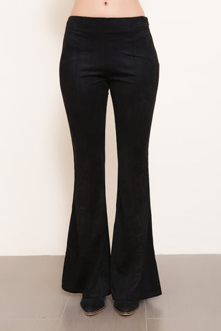 Whiskey River Suede Bell Bottoms - FINAL SALE