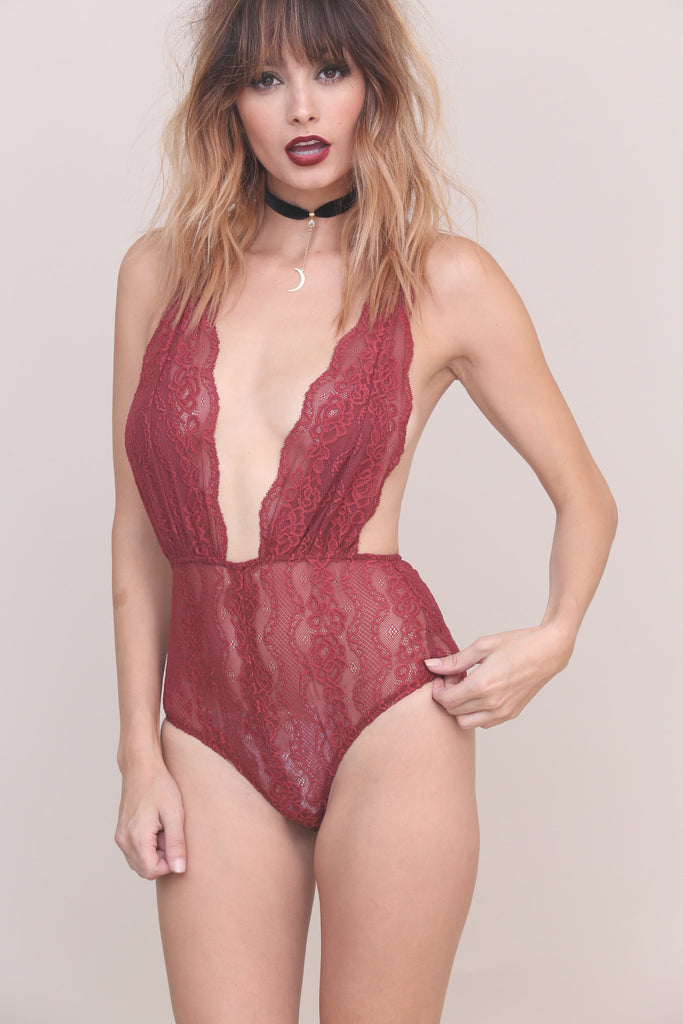 Thrill Of The Lace Bodysuit - FINAL SALE
