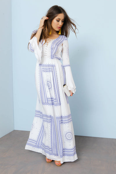 Santorini Maxi Dress by The Jetset Diaries - FINAL SALE