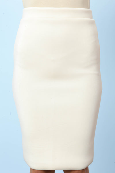 Hold Tight Scuba Skirt - FINAL SALE
