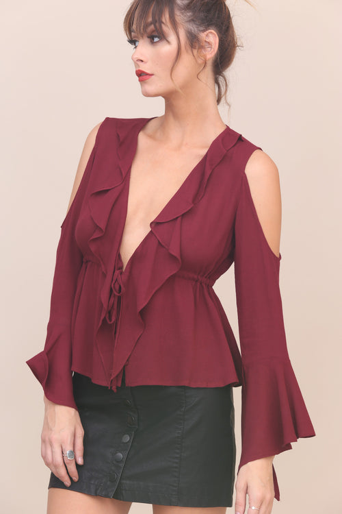 Ruffled Up Top - FINAL SALE