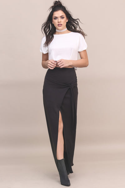 Why Knot Maxi Skirt- FINAL SALE