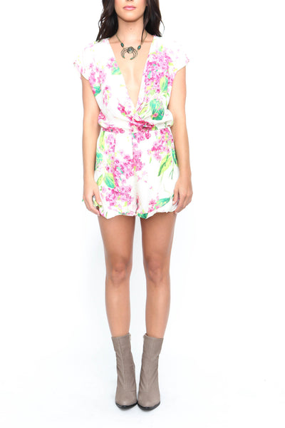 Romantics Romper - FINAL SALE