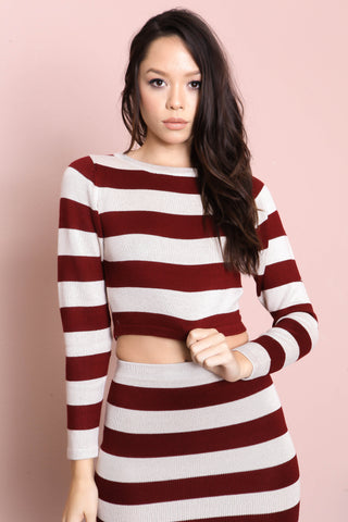 Stanford Cropped Sweater - FINAL SALE