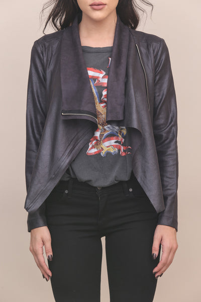 Sepulveda Suede Moto Jacket - FINAL SALE