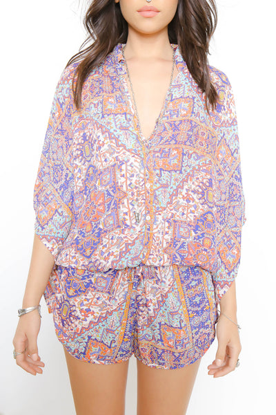 Moroccan Dreamin' Romper - FINAL SALE
