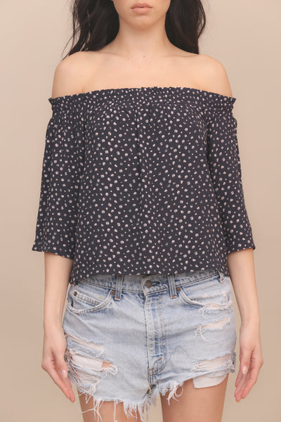 Gemini Off Shoulder Top by Minkpink