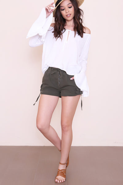 Melvin Soft Roll Cargo Short by Free People - FINAL SALE