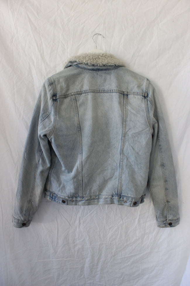 Levi's Sherpa Denim Jacket by Luna B Vintage