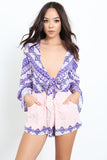 Outsiders Print Romper by Somedays Lovin - FINAL SALE