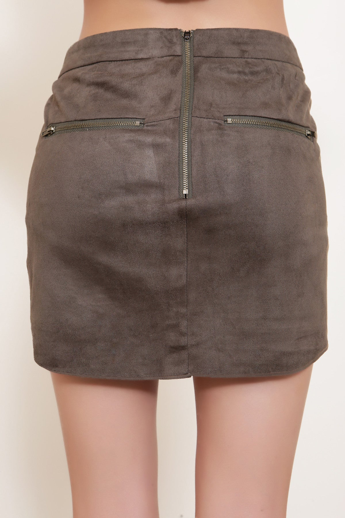 Envy Suede Skirt