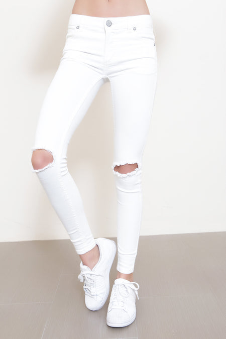 Cropped Boot Jeans by Free People - FINAL SALE