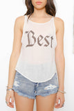 Best Tank by Wildfox - FINAL SALE