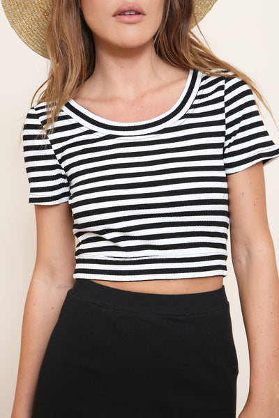 Strike Me Crop Top by Minkpink - FINAL SALE