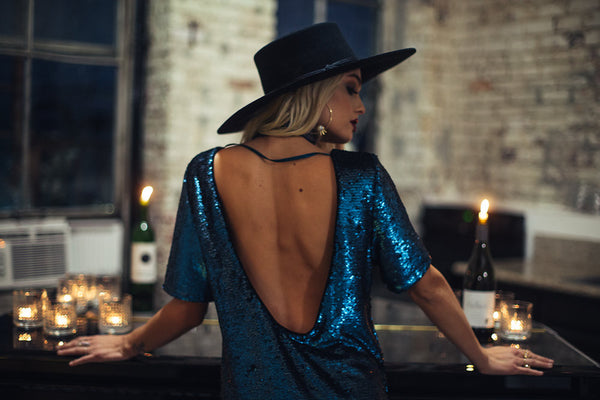 Midnight Madness Sequin Dress - FINAL SALE