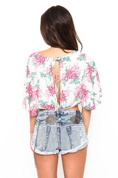 Floral Ways Crop Top - FINAL SALE