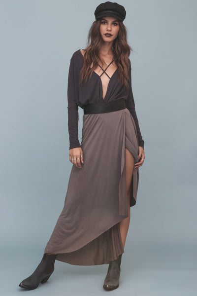 Running Wraps Maxi Skirt - FINAL SALE