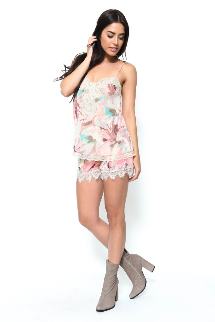Dreaming Floral Short - FINAL SALE