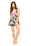 Dip It Low Romper - FINAL SALE