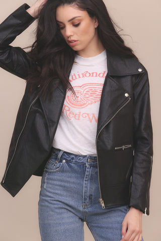 Out Of Luck Leather Jacket - FINAL SALE