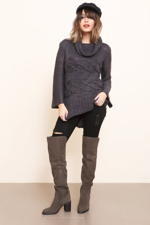 Dusty Cable Knit Jumper by Somedays Lovin - FINAL SALE