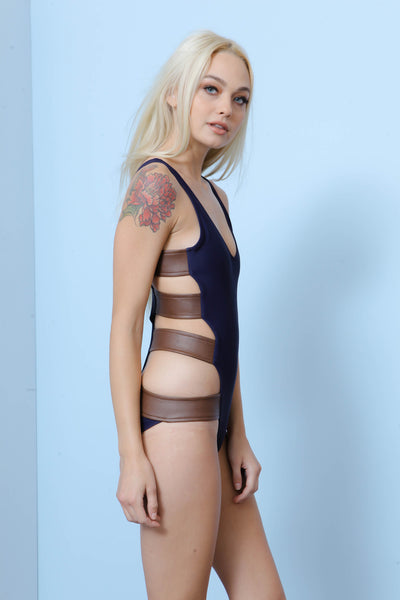 Staten Island Monokini by Red Velvet - FINAL SALE