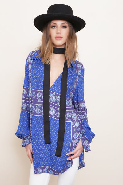 Changing Times Tunic by Free People - FINAL SALE