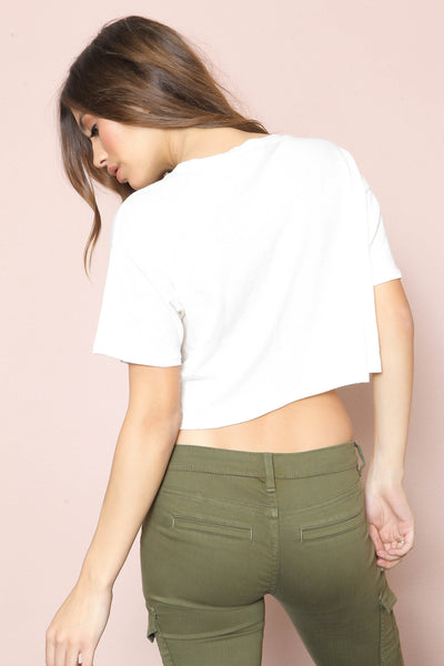 Harper Cropped Tee by Amuse Society - FINAL SALE