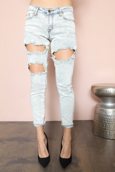 Let's Shred Skinny Jean- FINAL SALE