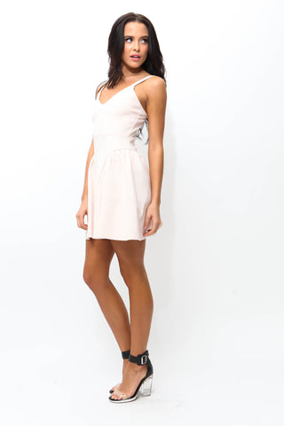 Girl Talk Flare Dress