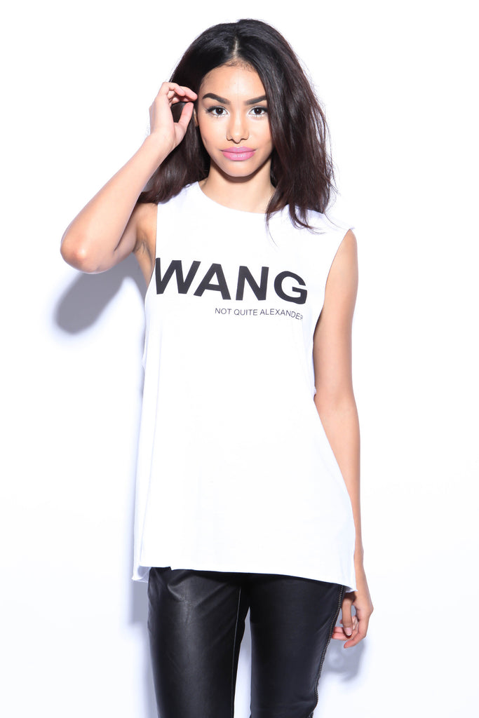 Wang-Not Quite Alexander Muscle Tank - FINAL SALE