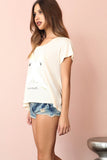 Lazy Weekend Tee by WILDFOX - FINAL SALE