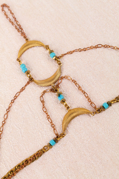 Center Divider Hand Chain - FINAL SALE
