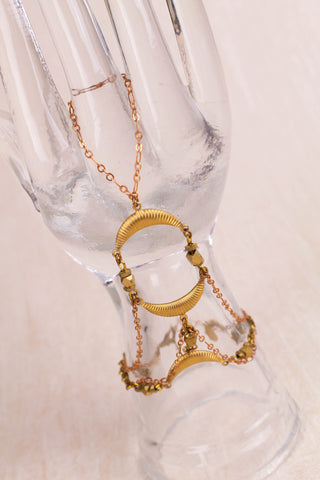 Wrap Around Hand Chain - FINAL SALE