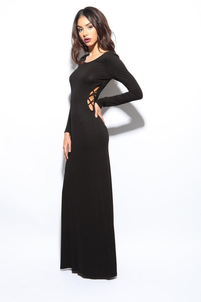 Tongue Tied Maxi Dress - FINAL SALE