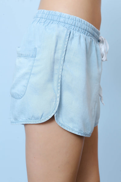 Always Sunny Chambray Short - FINAL SALE