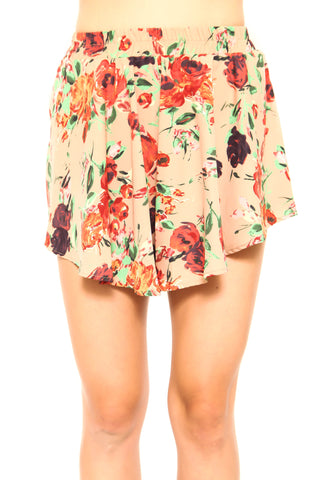 Fly Away Floral Short - FINAL SALE