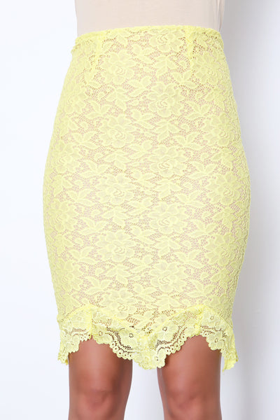 Lemon Drop Skirt - FINAL SALE