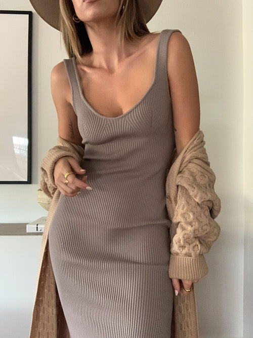 One More Time Midi Dress