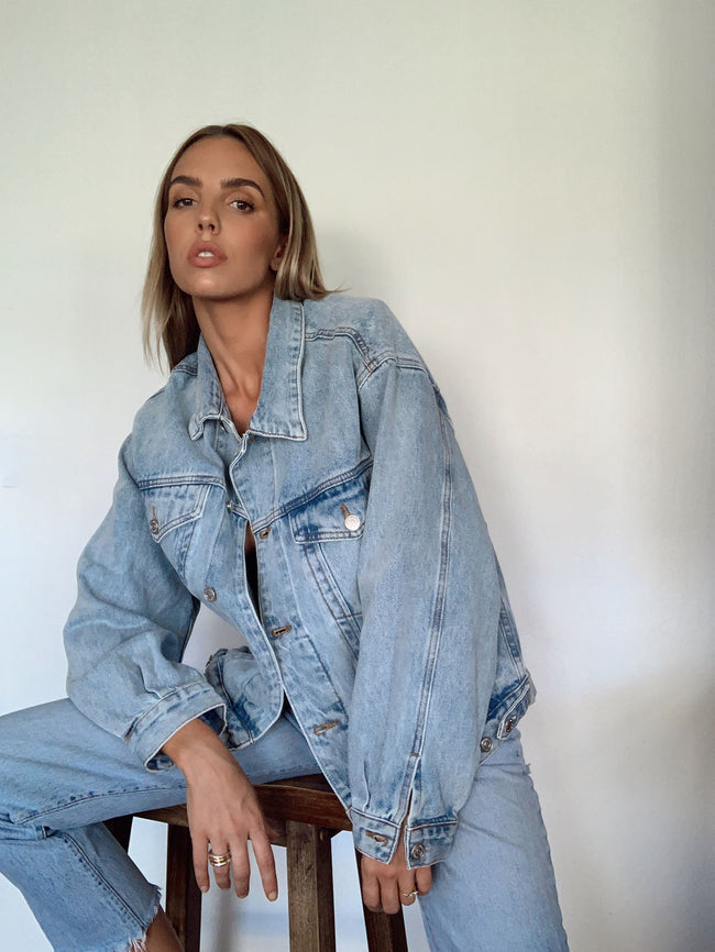 Summer Roadtrip Denim Jacket