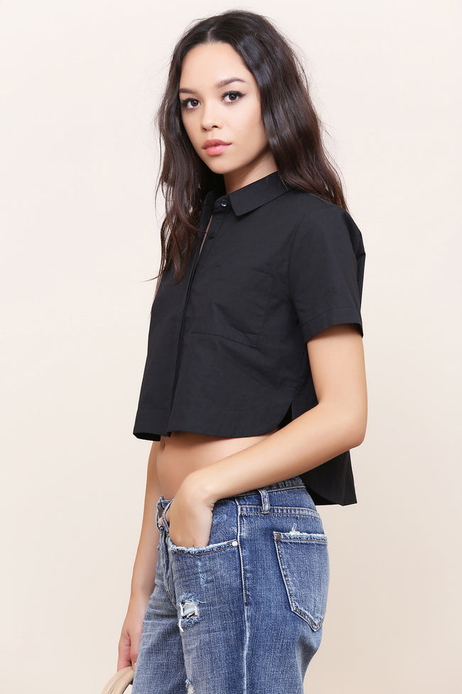 Back To Business Crop Top - FINAL SALE