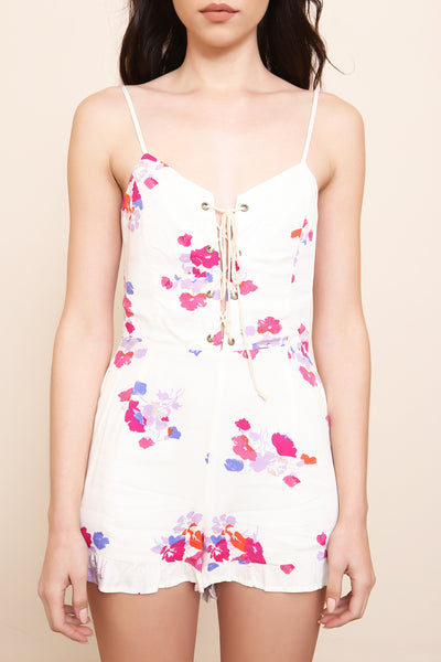 Falling Blooms Playsuit by Minkpink - FINAL SALE