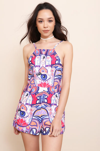 All Seeing Playsuit by Minkpink - FINAL SALE